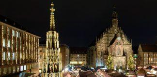 Ab 2016 endlich wieder fester Bestandteil des Nürnberger Christkindlesmarkt: Schöner Brunnen (Foto: CTZ / Uwe Niklas)