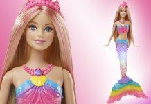 Highlight unterm Weihnachtsbaum: die Barbie Meerjungfrau