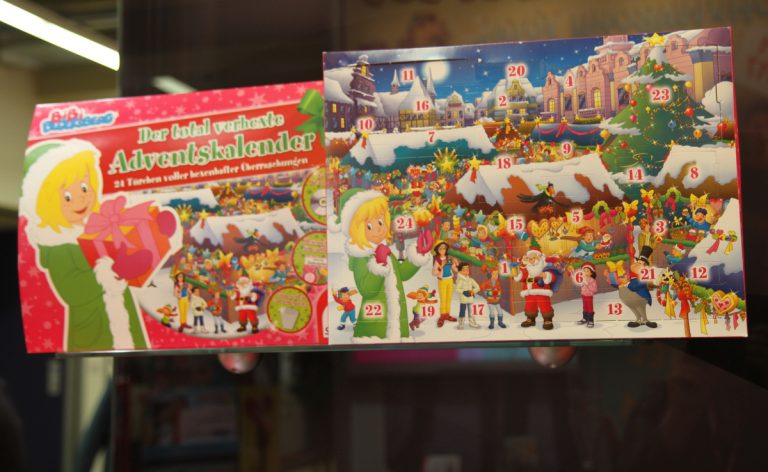 Bibi Blocksberg Adventskalender 2017 – total verhext!