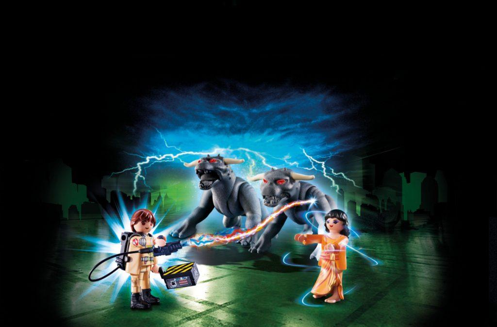 Playmobil Ghostbusters Venkman und Terror Dogs (Foto: Playmobil)