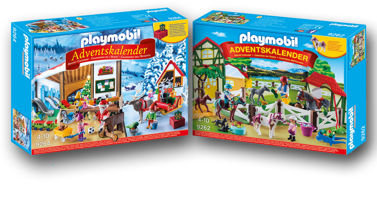 playmobil adventskalender 2017 reiterhof und wichtelwerkstatt o du fr hliche. Black Bedroom Furniture Sets. Home Design Ideas