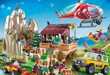 """Alle Sets der neuen Spielwelt """"Playmobil Bergrettung im Einsatz"""" im Überblick (Foto: Playmobil)"""