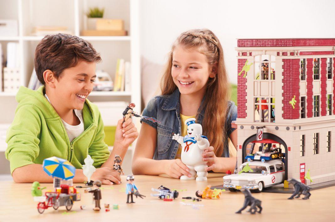 Ab Mai 2017 im Handel: Playmobil Ghostbusters (Foto: Playmobil)