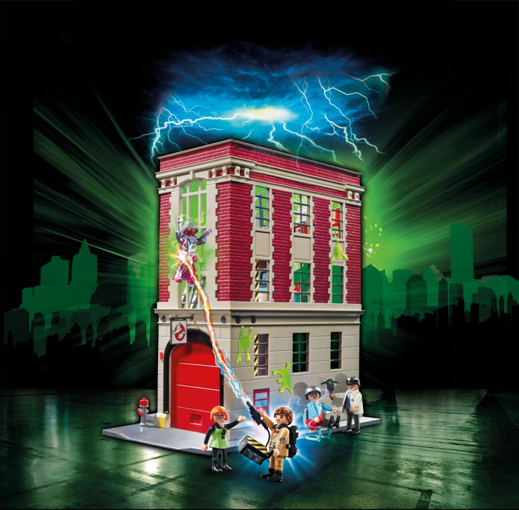 Playmobil Ghostbusters Feuerwache (Foto: Playmobil)