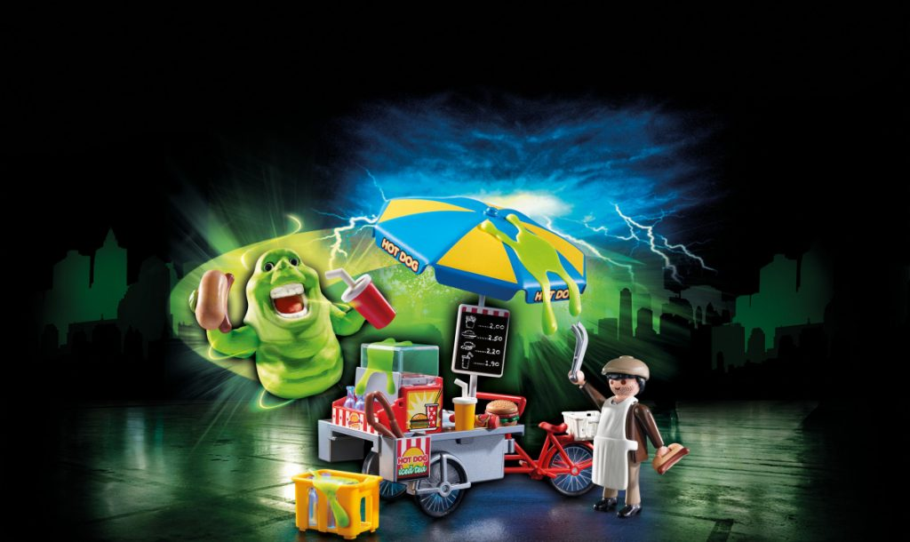 Playmobil Ghostbusters Slimer mit Hot-Dog-Stand (Foto: Playmobil)