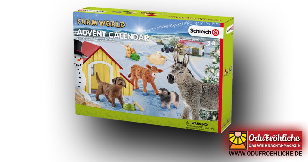 "Schleich Adventskalender 2017 ""Farm World"" 97448 (Foto: Schleich)"