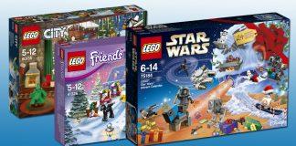 """Neu ab September 2017: Die LEGO Adventskalender 2017 zu den Serien """"LEGO Star Wars"""", """"LEGO Friends"""" und """"LEGO City"""""""