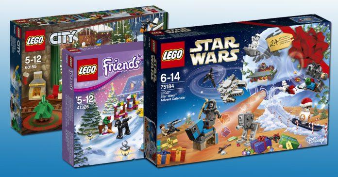 Neu ab September 2017: Die LEGO Adventskalender 2017 zu den Serien