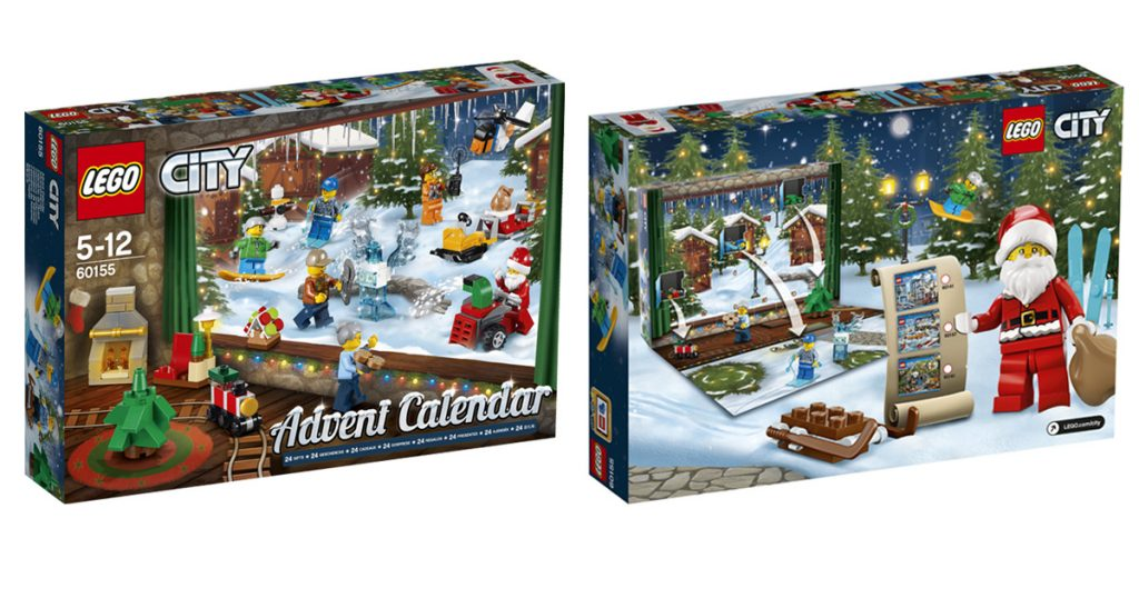 LEGO City Adventskalender 2017 (60155)