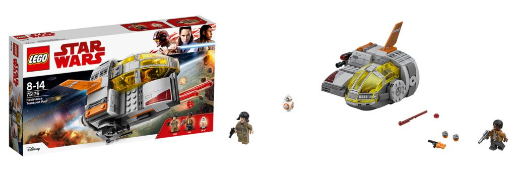 LEGO Star Wars Resistance Transport Pod (LEGO 75176)