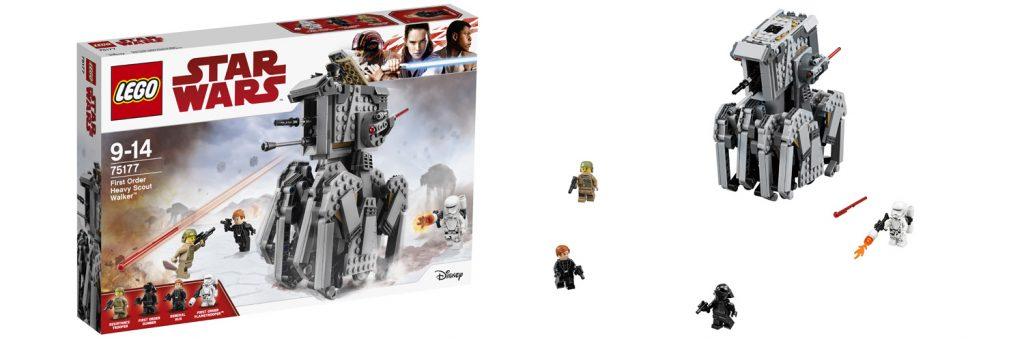LEGO Star Wars First Order Heavy Scout Walker (LEGO 75177)