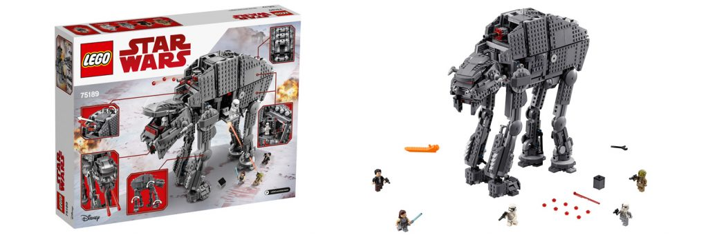 LEGO Star Wars First Order Heavy Assault Walker (LEGO 75189)