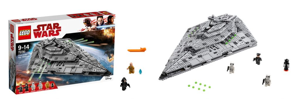 LEGO Star Wars First Order Star Destroyer (LEGO 75190)