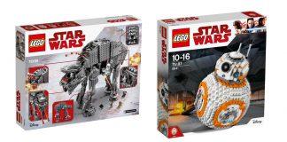 """Zwei der sieben """"LEGO Star Wars""""-Neuheiten 2017: Heavy Assault Walker und BB-8"""