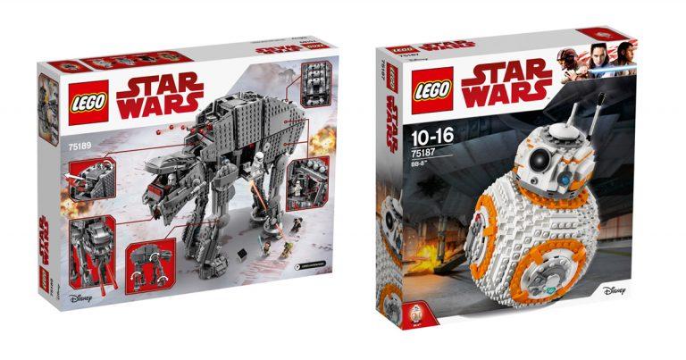 """LEGO Star Wars: Die neuen Sets zu """"Star Wars: Die letzten Jedi"""""""