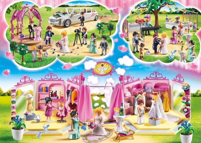 Limousine, Brautmodengeschäft, Pavillon: Alle fünf Sets der neuen