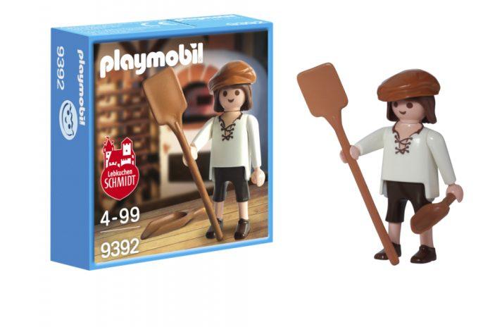 Zum 90. Jubiläum von Lebkuchen Schmidt hat Playmobil eine exklusive Figur aufgelegt: Der Playmobil-Lebküchner ist im Lebkuchen Schmidt Familienpaket 2017 enthalten!