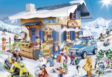 Playmobil Wintersport: Die neue Spielwelt mit Schneeballschlacht, Skischule und Skihütte.