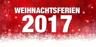 Weihnachtsferien 2017/18 im Überblick (Grafik: Fotolia)