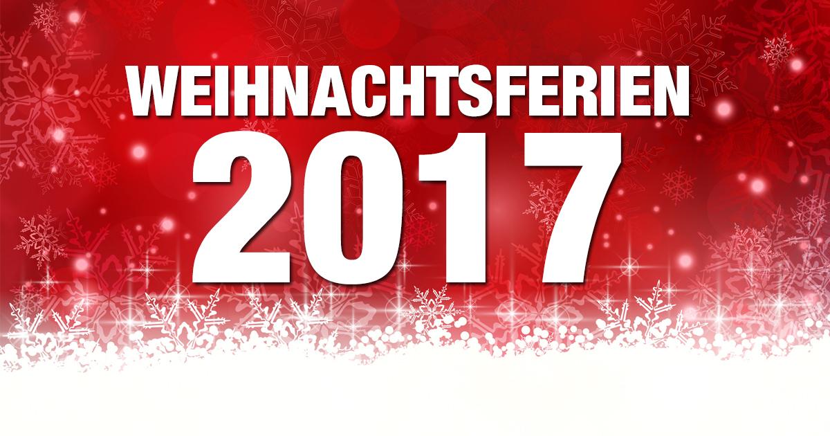 weihnachtsferien 2017 2018 schulferien deutschland uebersicht o du fr hliche. Black Bedroom Furniture Sets. Home Design Ideas