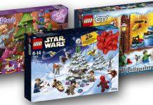 Die LEGO Adventskalender 2018 im Überblick: LEGO Friends, LEGO Star Wars, LEGO City (Abbildungen: LEGO)
