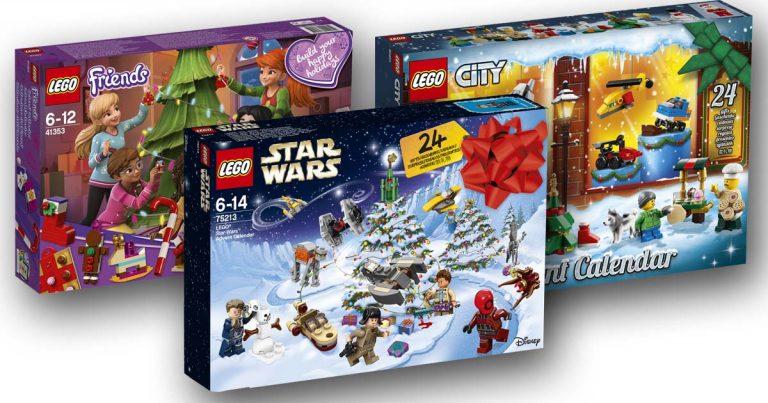 LEGO Adventskalender 2018: LEGO Star Wars, LEGO Friends, LEGO City