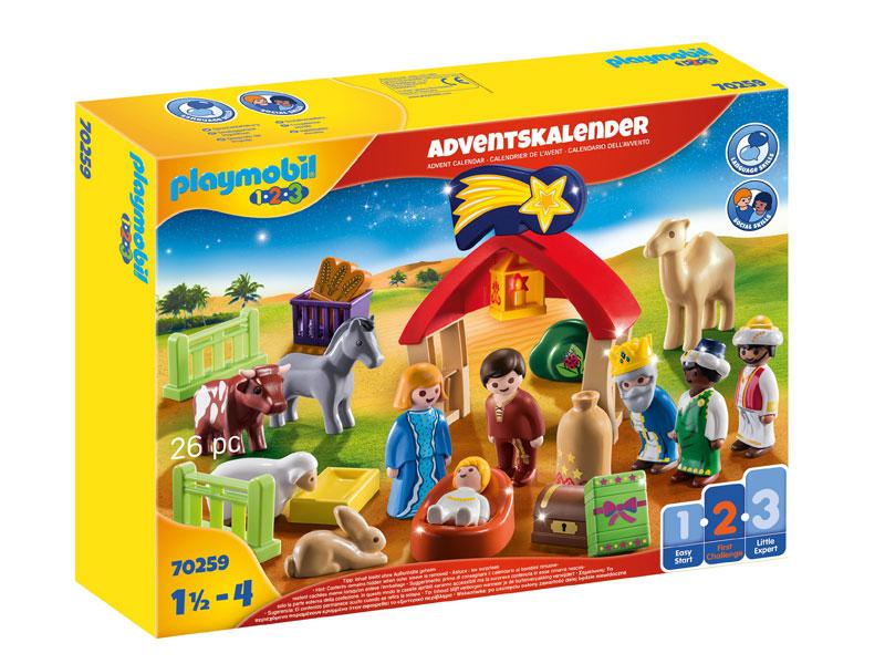 Playmobil 123 Adventskalender 2020 - Weihnachtsgeschichte (Abbildung: Playmobil)