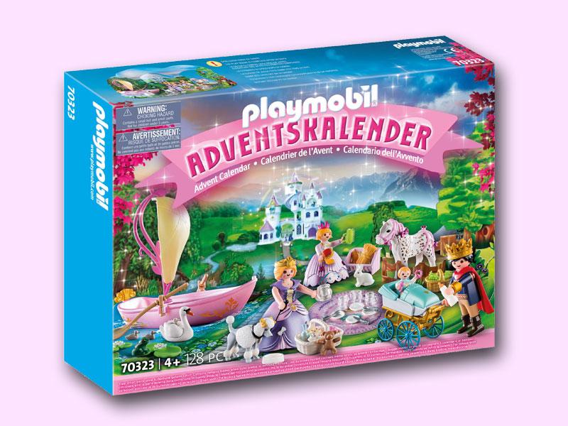 Playmobil Adventskalender 2020 - Königliches Picknick (Abbildung: Playmobil)
