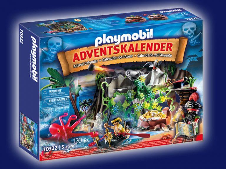 """Playmobil Adventskalender 2020 """"Schatzsuche in der Piratenbucht"""" – Preis und Inhalt"""